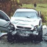 Três acidentes deixam dois mortos e sete feridos
