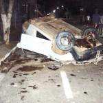 Dirigido por menor, veículo desgovernado capota em Mantenópolis