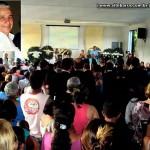 População de Mantenópolis dá o último adeus ao taxista Joaquim Noronha, morto a facadas