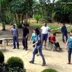 Alunos da Pestalozzi de Mantenópolis visitam Parque Sombra da Tarde, em Barra de São Francisco