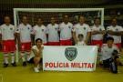 Esporte une comunidade e polícia militar em Ecoporanga