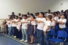 Proerd forma 155 alunos do 5º Ano em Ecoporanga