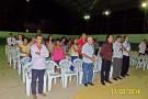 Enchente: Moradores do Bairro Campo Novo realizam culto de agradecimento a preservação das vidas