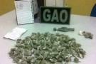 PM prende quadrilha por tráfico de drogas em Ecoporanga