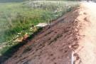 Empresa entra sem autorização em propriedade rural e causa prejuízos incalculáveis para produtores em Ecoporanga.