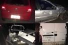Dois acidentes em Barra de São Francisco, no mesmo local, em menos de uma hora