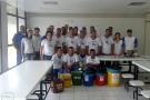 """Palestra """"Coleta Seletiva, Resíduos Sólidos Urbanos: Separação Simples"""" é ministrada na Ultragaz de Barra de São Francisco na semana interna de prevenção de acidentes"""