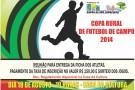 Sorteio dos jogos da Copa Rural 2014 em Barra de São Francisco será realizado nesta segunda-feira (18)