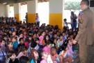Dia do Soldado é comemorado na Escola Mário Rigamont, em Mantena
