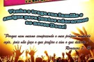 Culto Jovem na Igreja Metodista Central de Mantena neste próximo domingo (10)