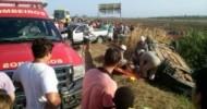 Mulher morre e outras quatro pessoas ficam feridas em grave acidente