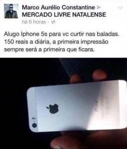 Aluguel de iPhone para