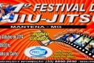 1º Festival de Jiu-Jitsu Infantil de Mantena nos dias 11 e 12 de outubro