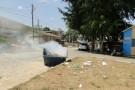 Protesto: moradores ateiam fogo em caixote de lixo em Vila Paulista e reclamam do abandono