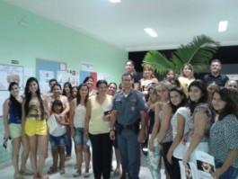 11º BPM realiza curso do PROERD para pais em Barra de São Francisco