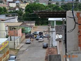 Perseguição policial em Barra de São Francisco termina com apreensão de arma e pé de maconha