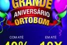 No mês de aniversário da Ortobom quem ganha o presente é você