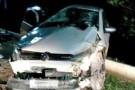 Carro capota na descida da Torre em Mantena deixando feridos