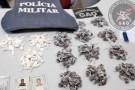 Polícia Militar apreende grande quantidade de drogas em Ecoporanga