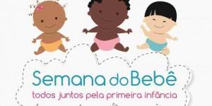 Secretarias Municipais de Assistência Social, Educação e Saúde realiza nesta quarta-eira(26) a II Semana do Bebê - Todos Juntos pela Primeira Infância