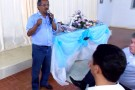 Novembro Azul: Palestra em Vila Pavão discute a saúde do homem