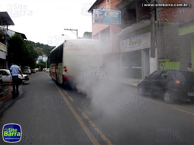 SiteBarra - Onibus da Pretti fumace em Barra de Sao Francisco (1)