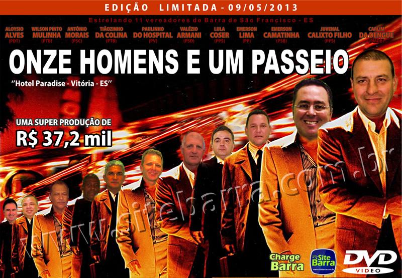 Capa do Filme Onze Homens e um passeio