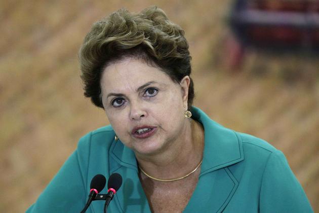 4. Dilma Rousseff, 66 anos, Brasil - Presidente do país