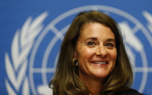 3. Melinda Gates, 49 anos, EUA - Co-fundadora e co-presidente da Fundação Bill e Melinda Gates