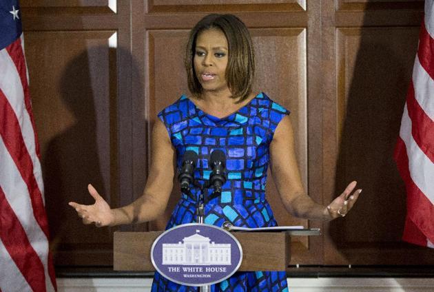 8. Michelle Obama, 50 anos, EUA - primeira-dama dos EUA