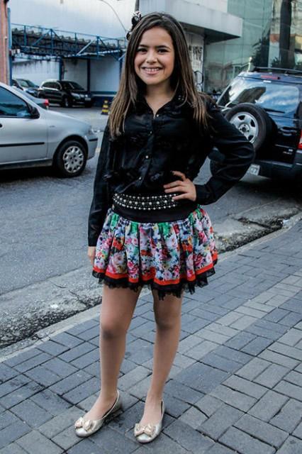 Ela cresceu! A apresentadora e atriz Maisa Silva, 12, apareceu diferente neste último final de semana.